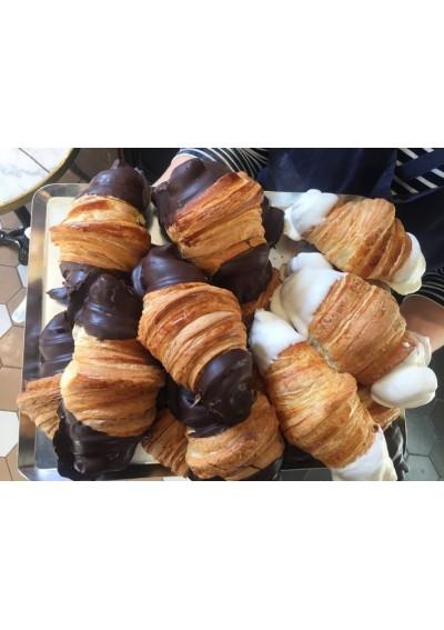 Croissant Pur beurre con choco blanco